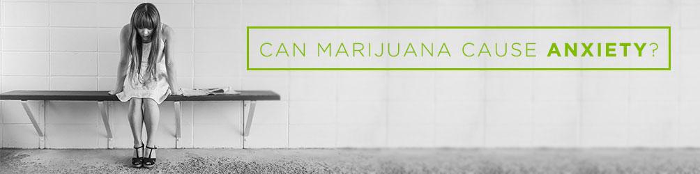 can marijuana cause anxiety