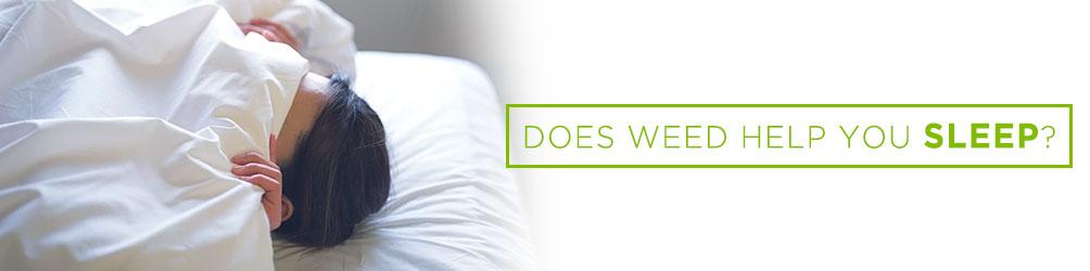 does weed help you sleep